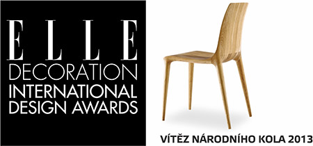 Židle figure - elle decoration 2013, design award