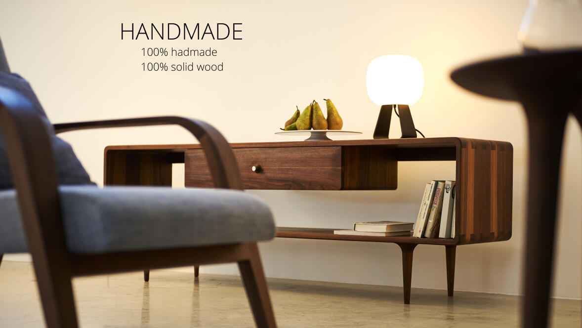 new Handmade collection - 100% handmade, 100% solid wood cabinets